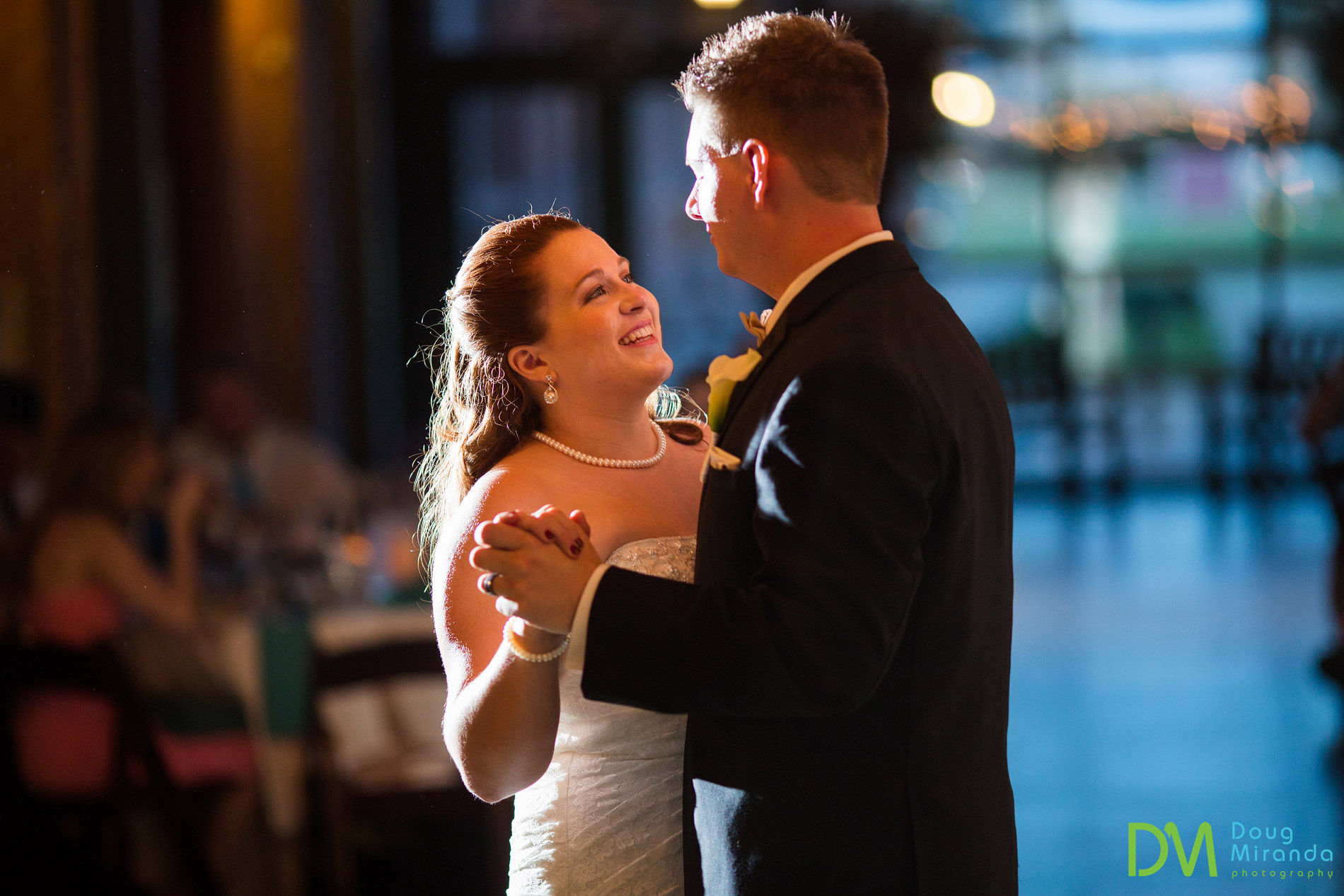 old sugar mill wedding first dance