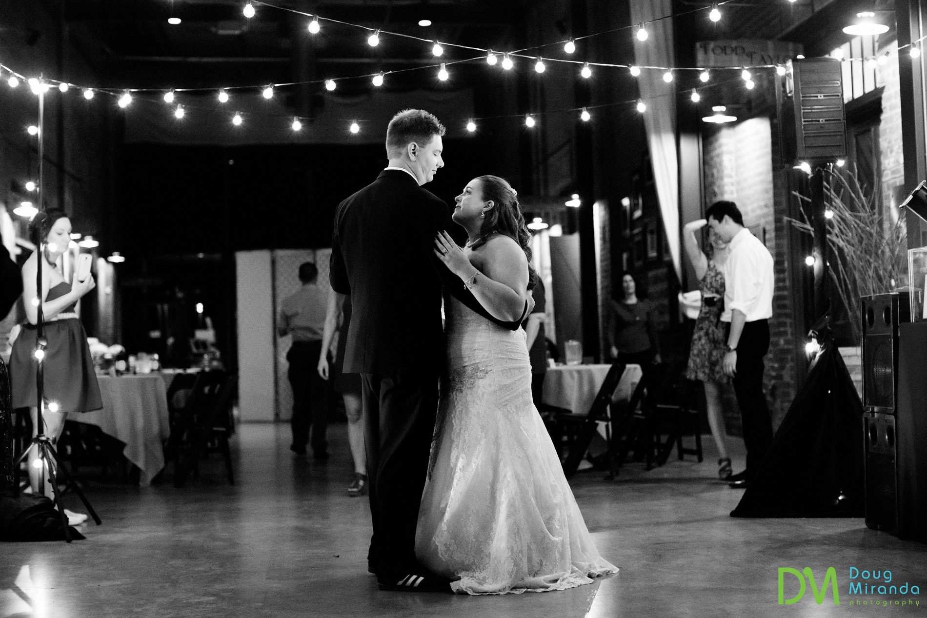 old sugar mill boiler room wedding.