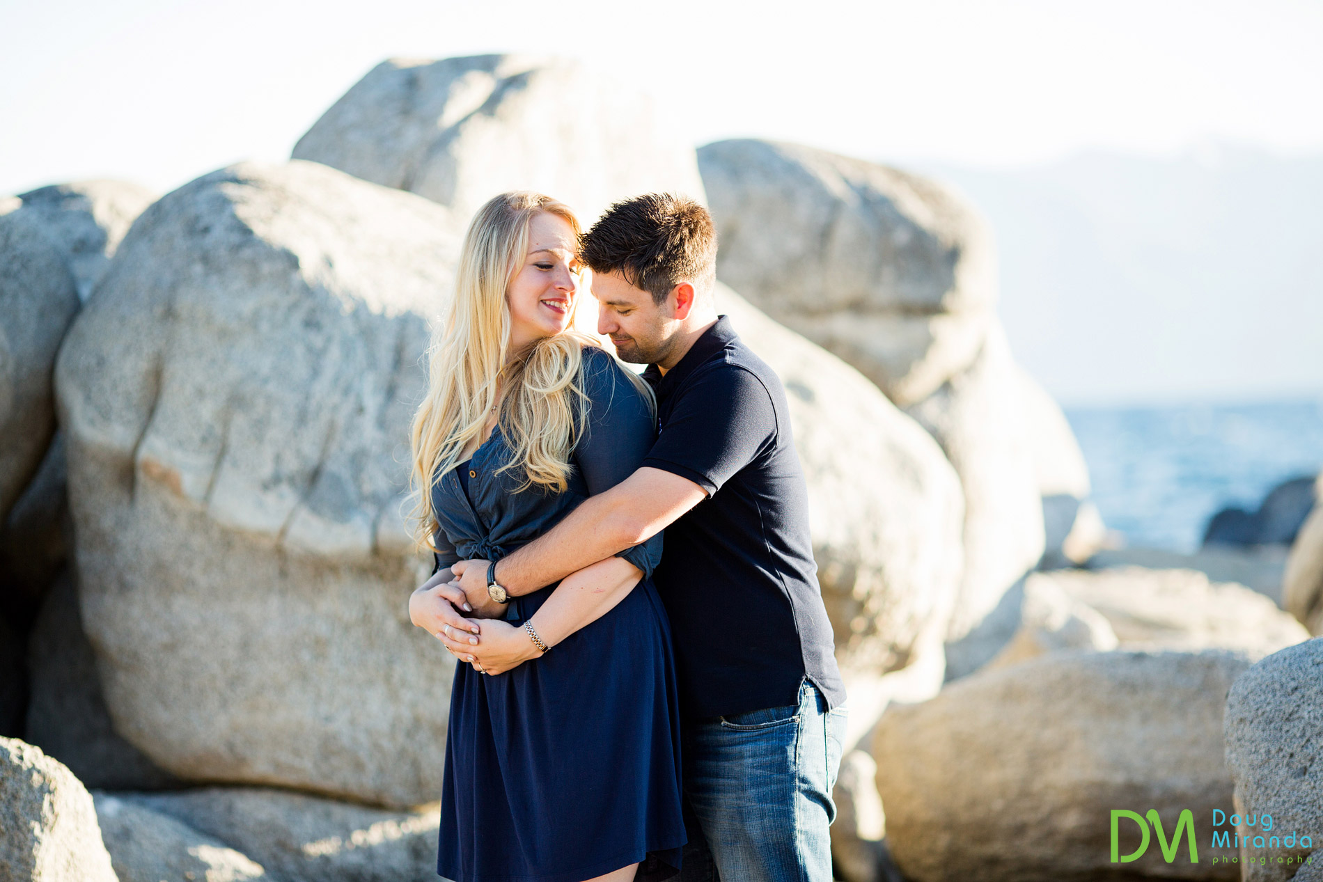 lake tahoe engagement photos