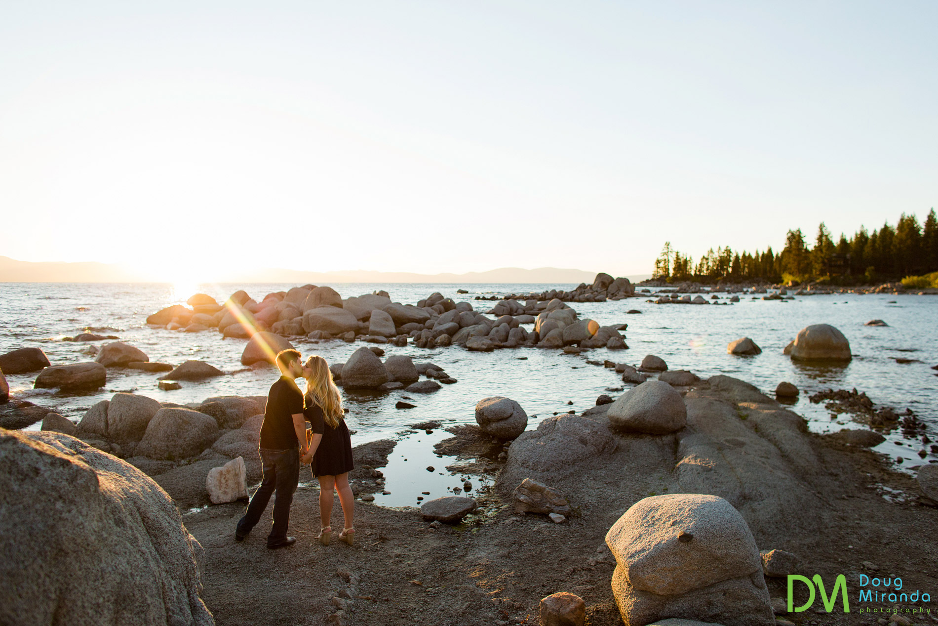 The light was so stunning at  sunset that afternoon at Zephyr Cove.