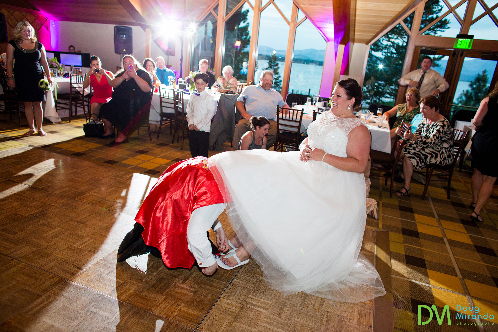 edgewood tahoe wedding reception