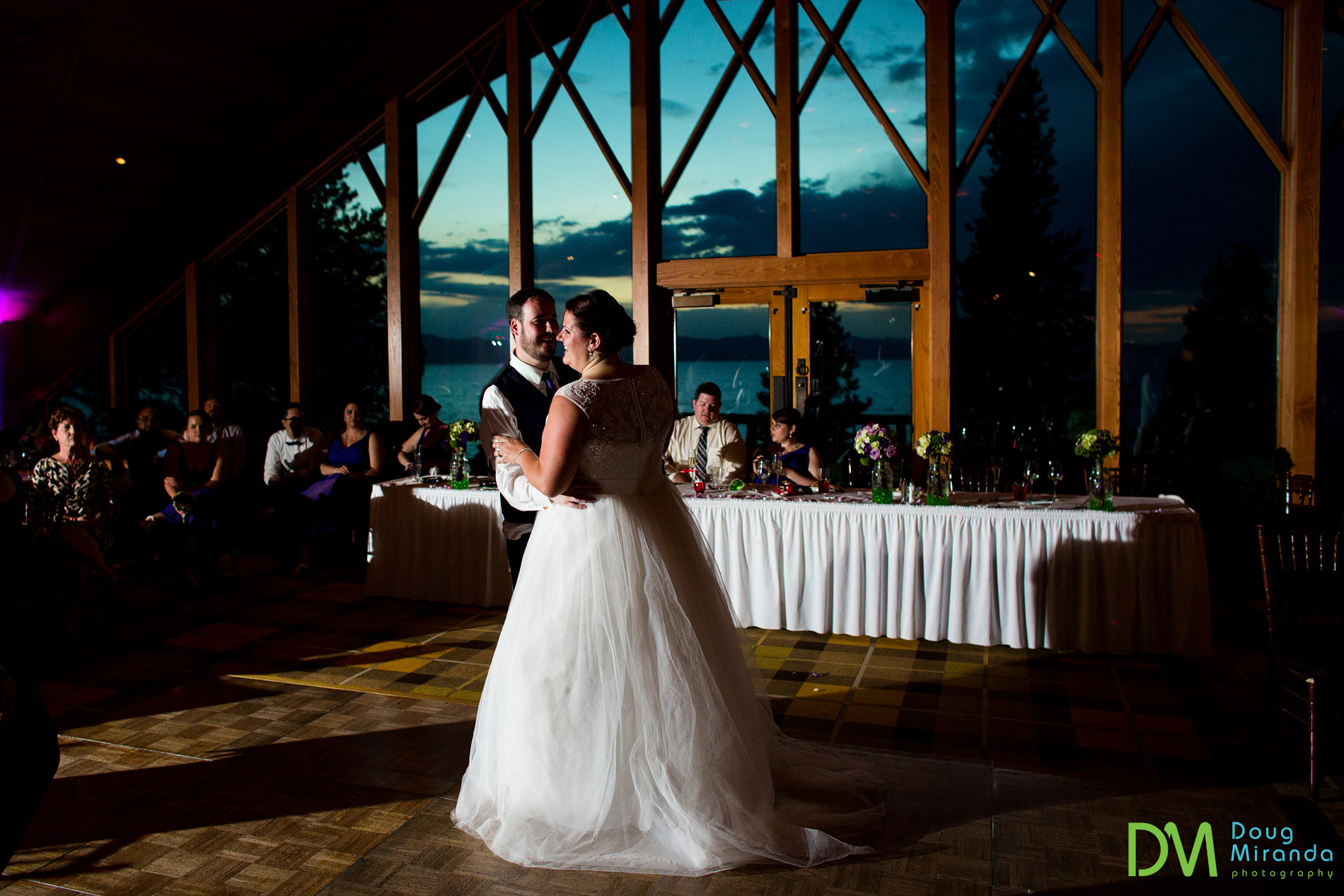 edgewood tahoe wedding north room