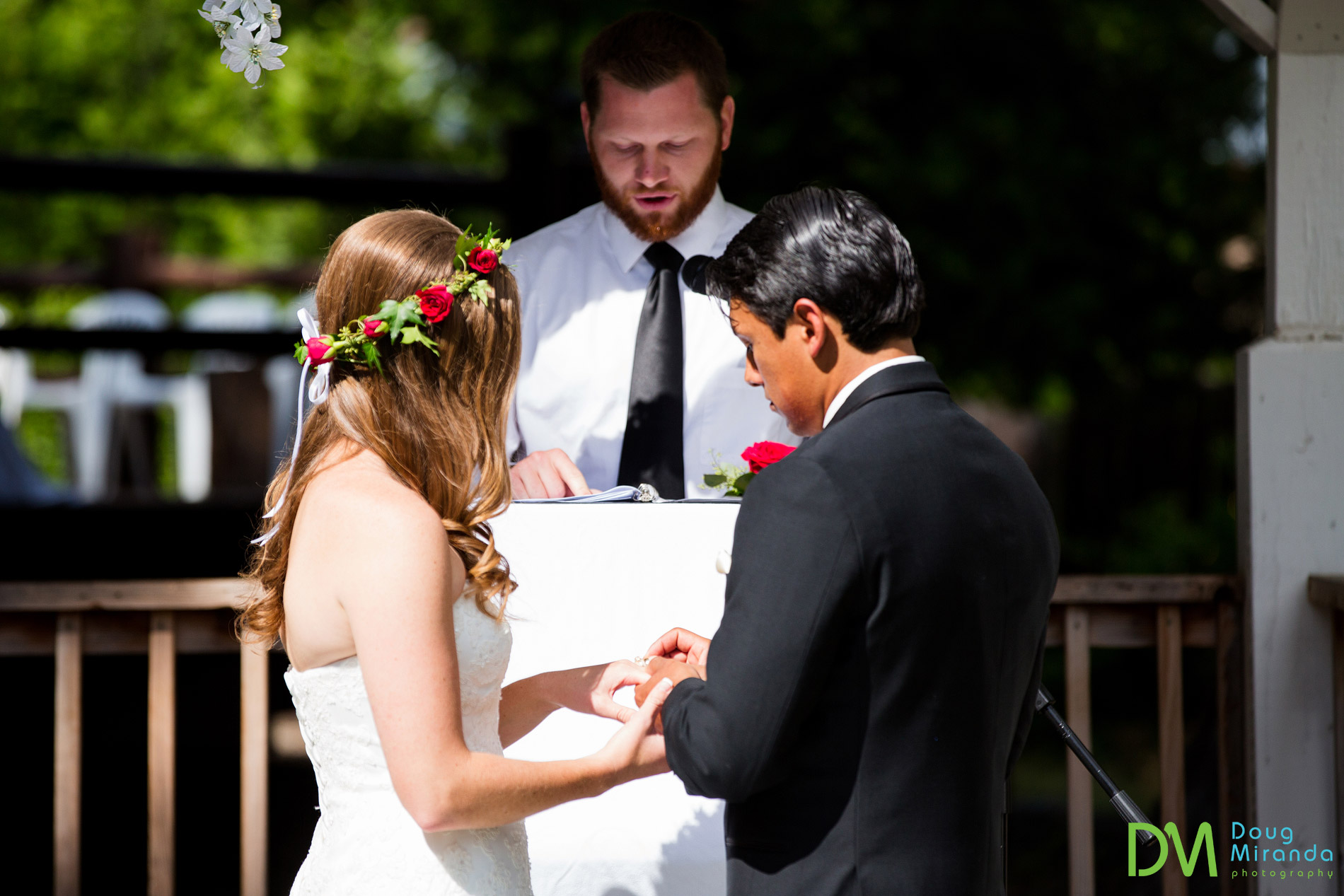strawberry lodge wedding ceremony