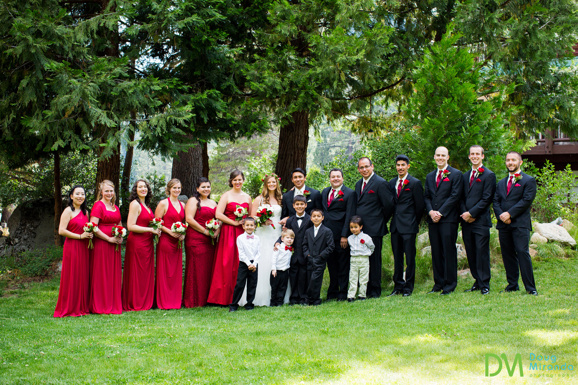 wedding at strawberry lodge ca