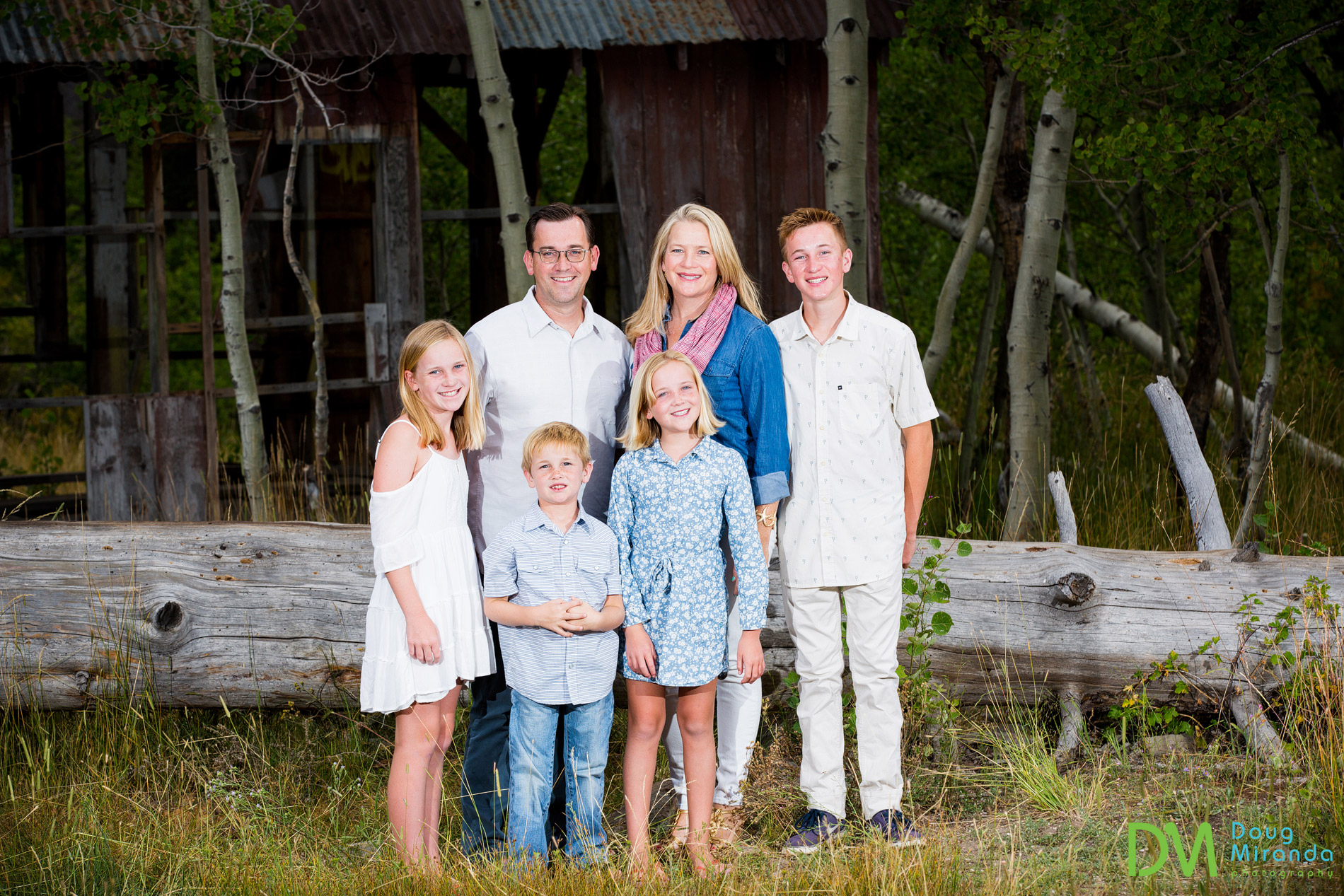 truckee family photography at northstar