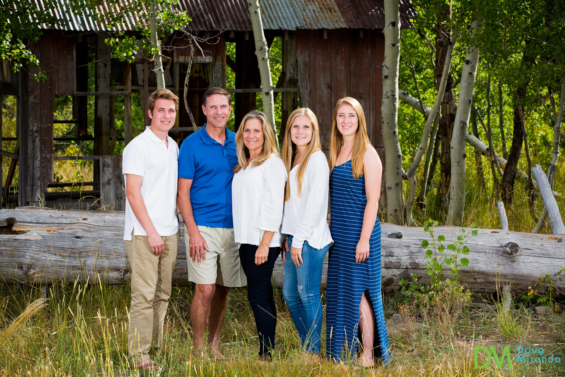 truckee family portrait photography