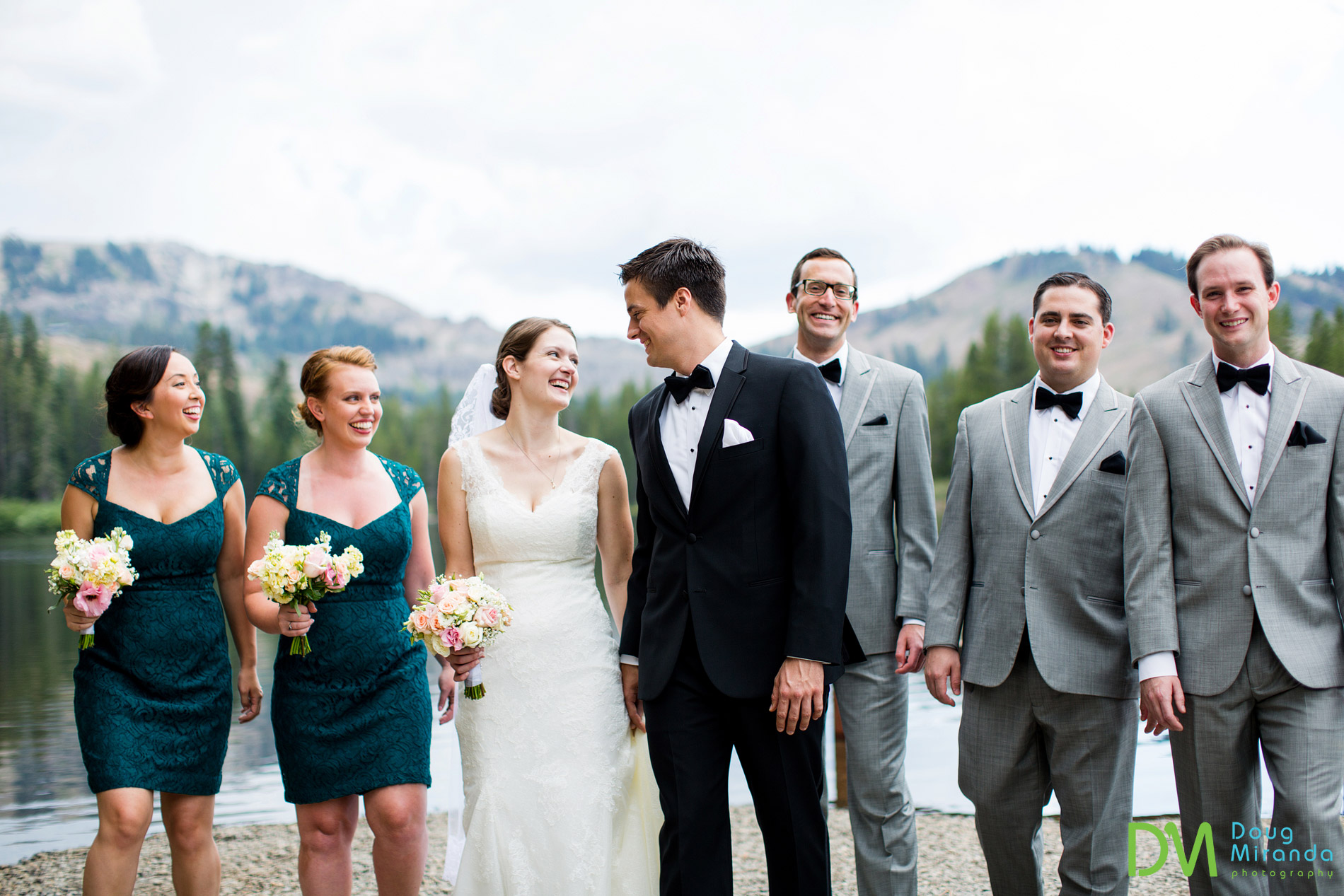 sugar bowl resort bridal party wedding