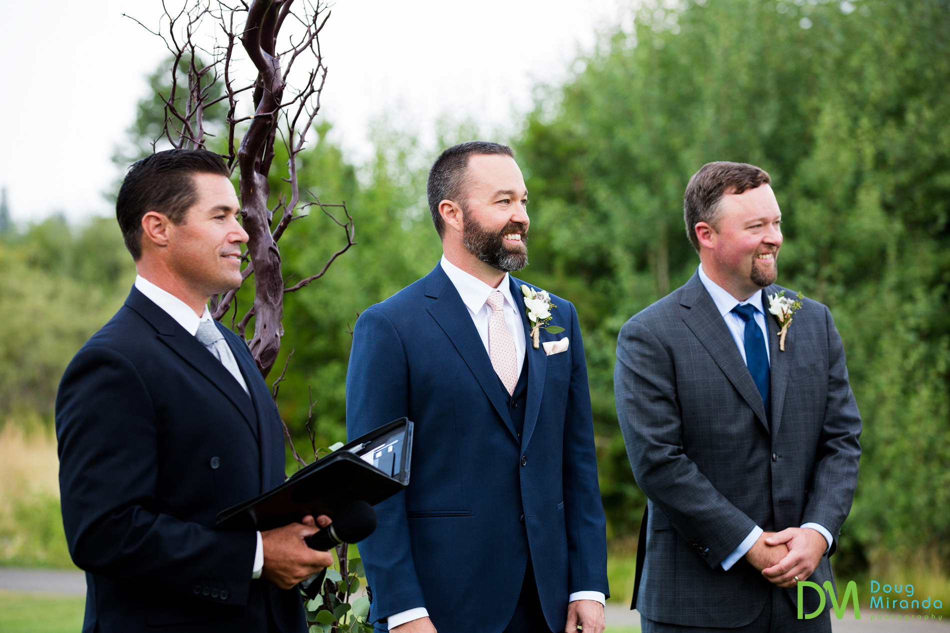 lake tahoe golf course wedding ceremony meyers ca