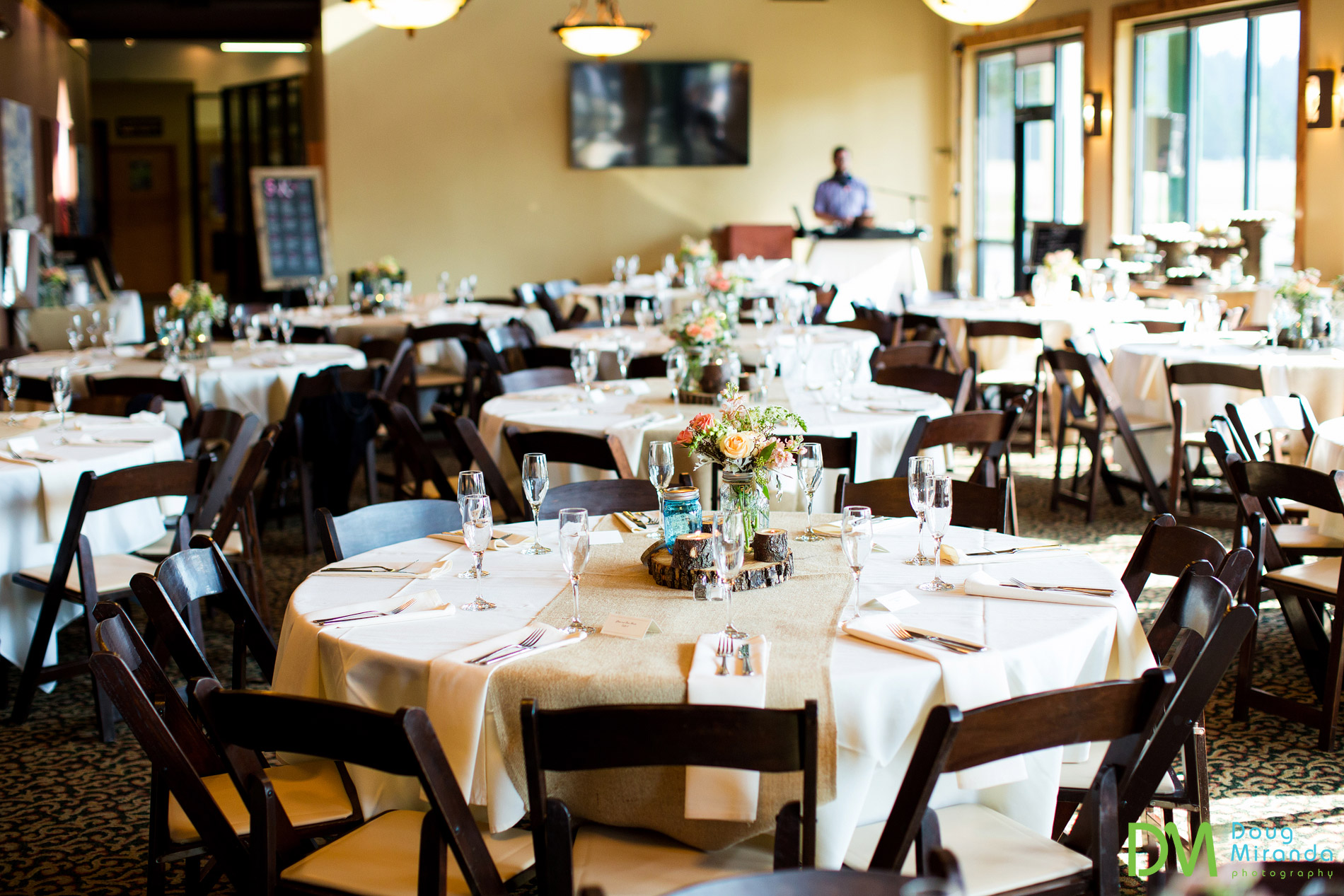 lake tahoe golf course wedding reception meyers ca