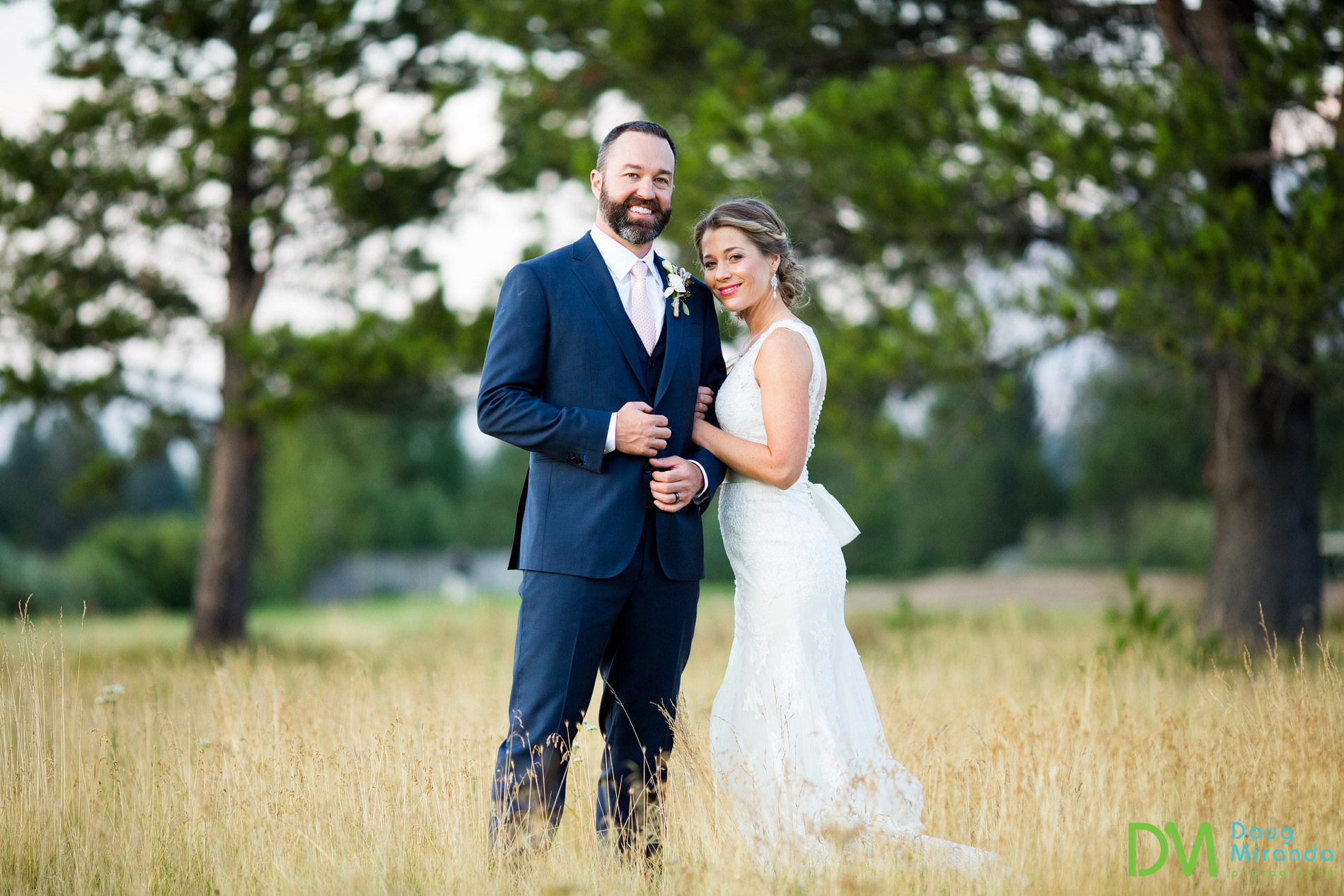 lake tahoe golf course wedding photos meyers ca