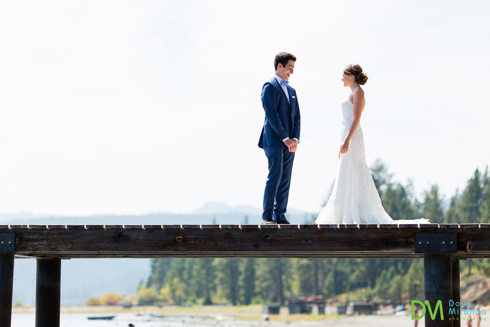 skylandia beach wedding tahoe city