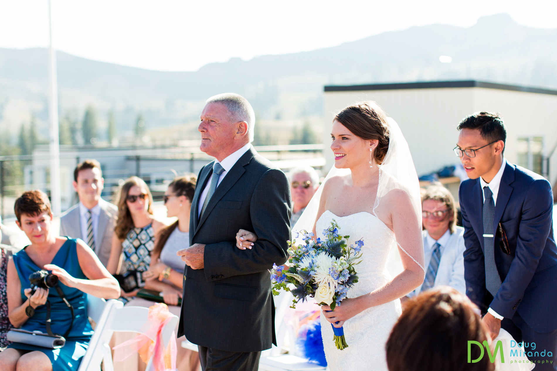 squaw valley high camp wedding ceremony