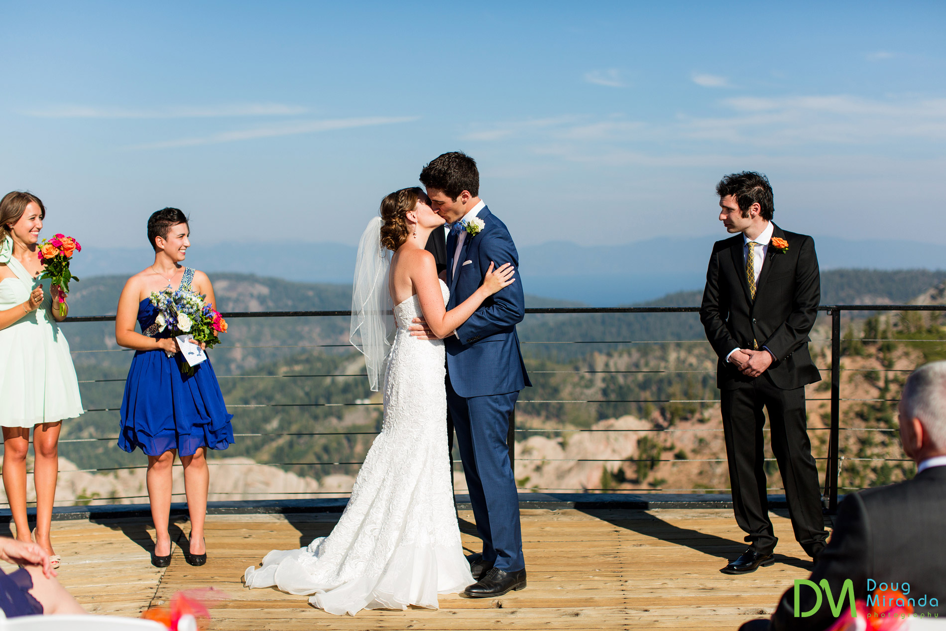 squaw valley high camp wedding photos