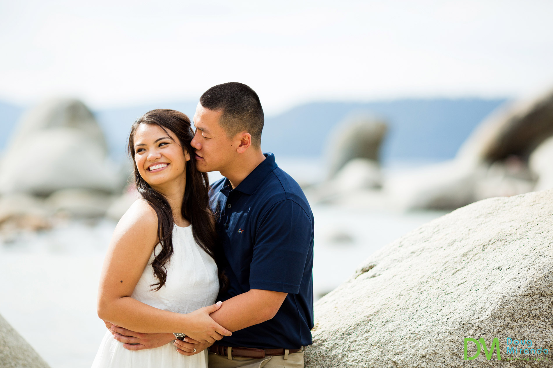 lake tahoe sand harbor engagement