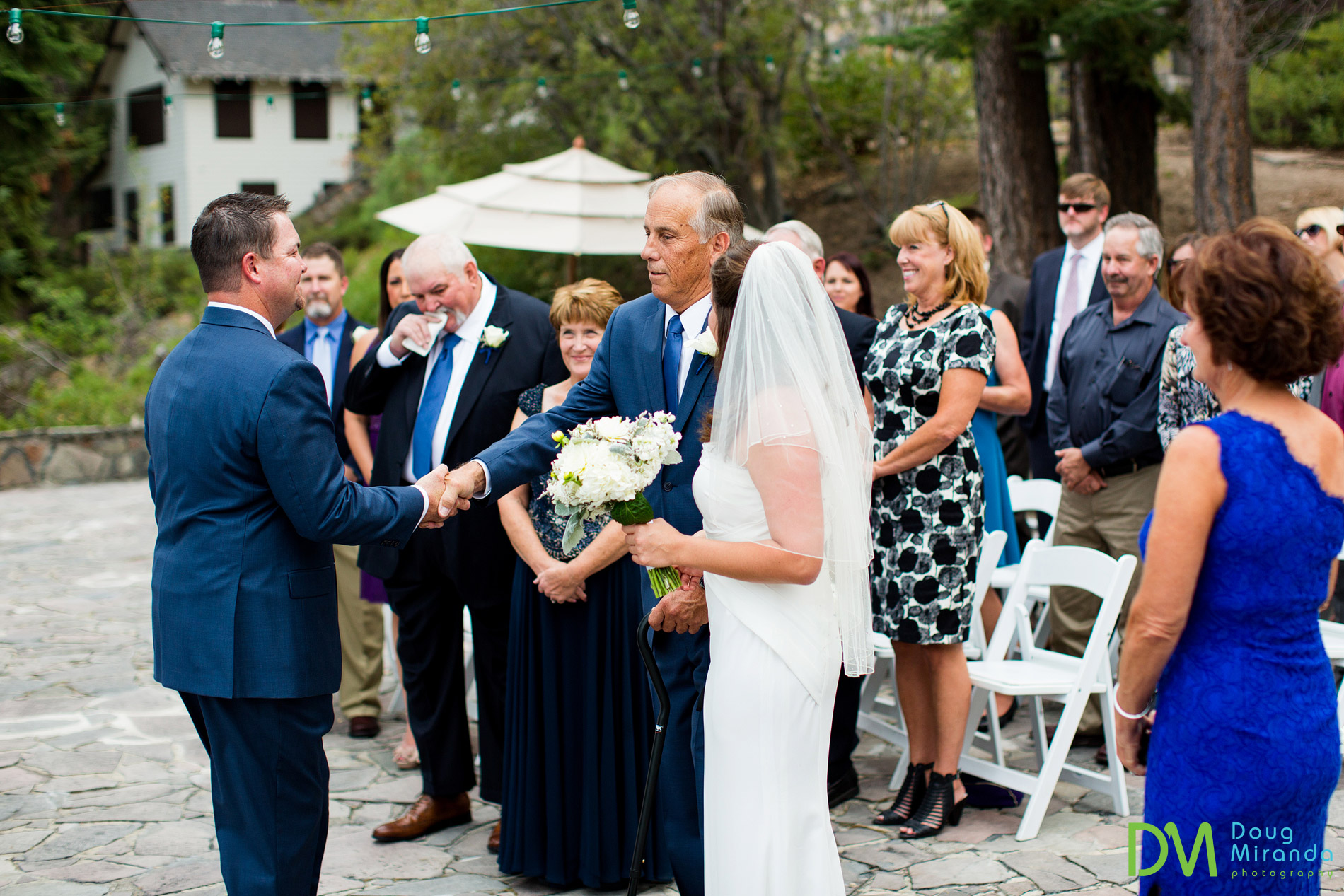 chinquapin wedding tahoe