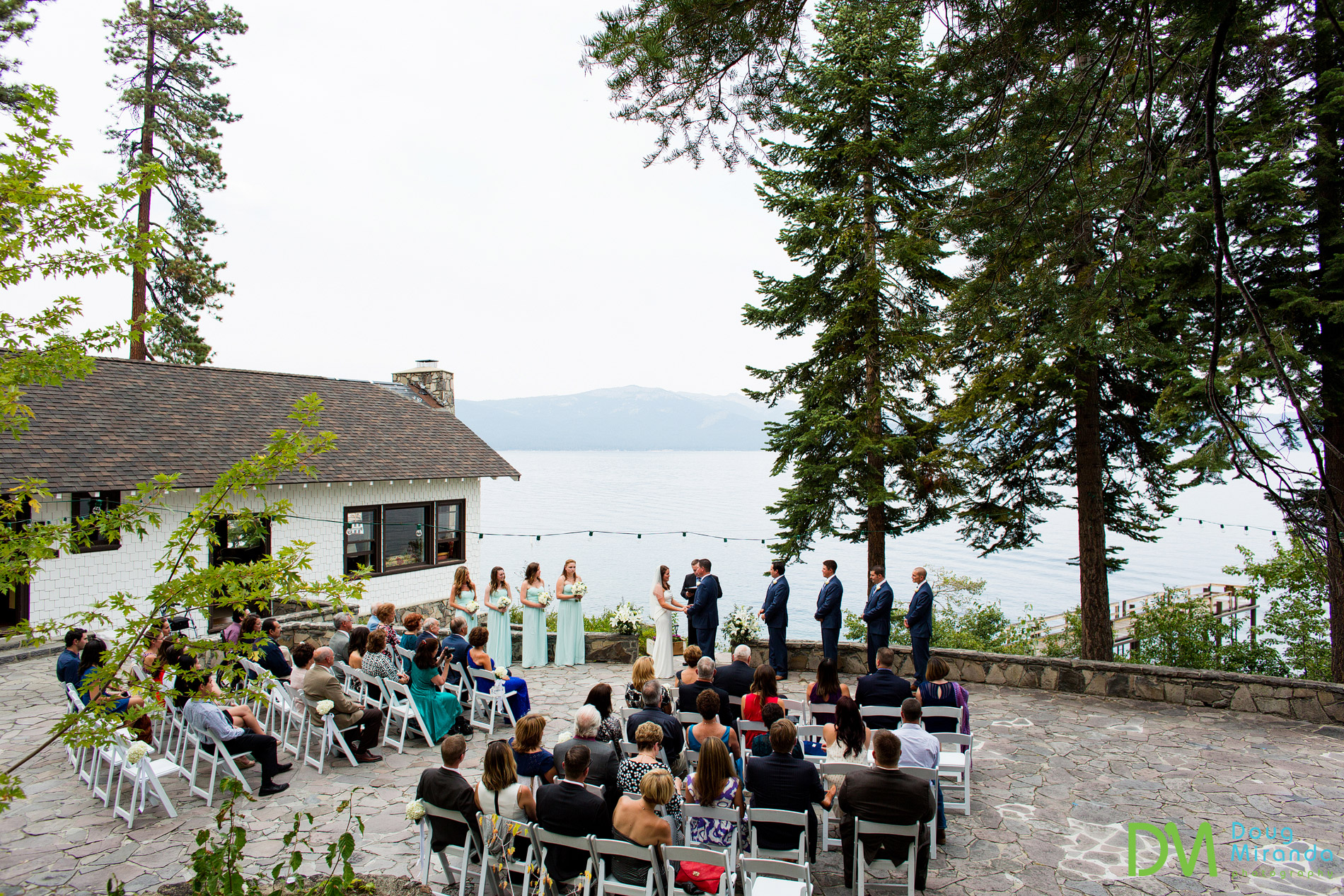 Dollar House Chinquapin wedding ceremony.