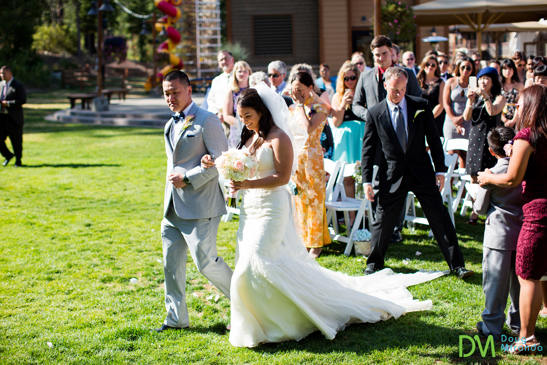 northstar resort wedding ceremony