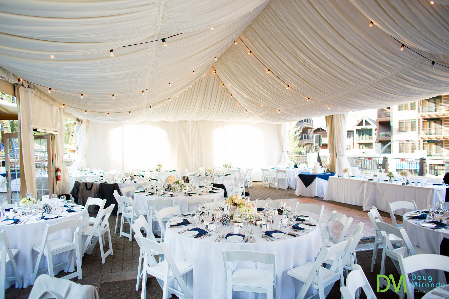 northstar resort wedding reception