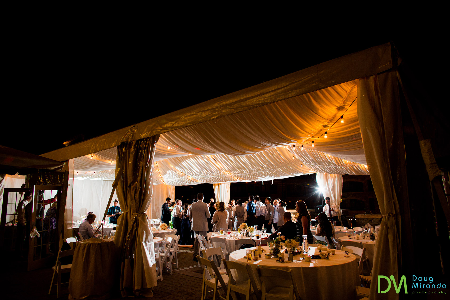 northstar resort wedding reception photos
