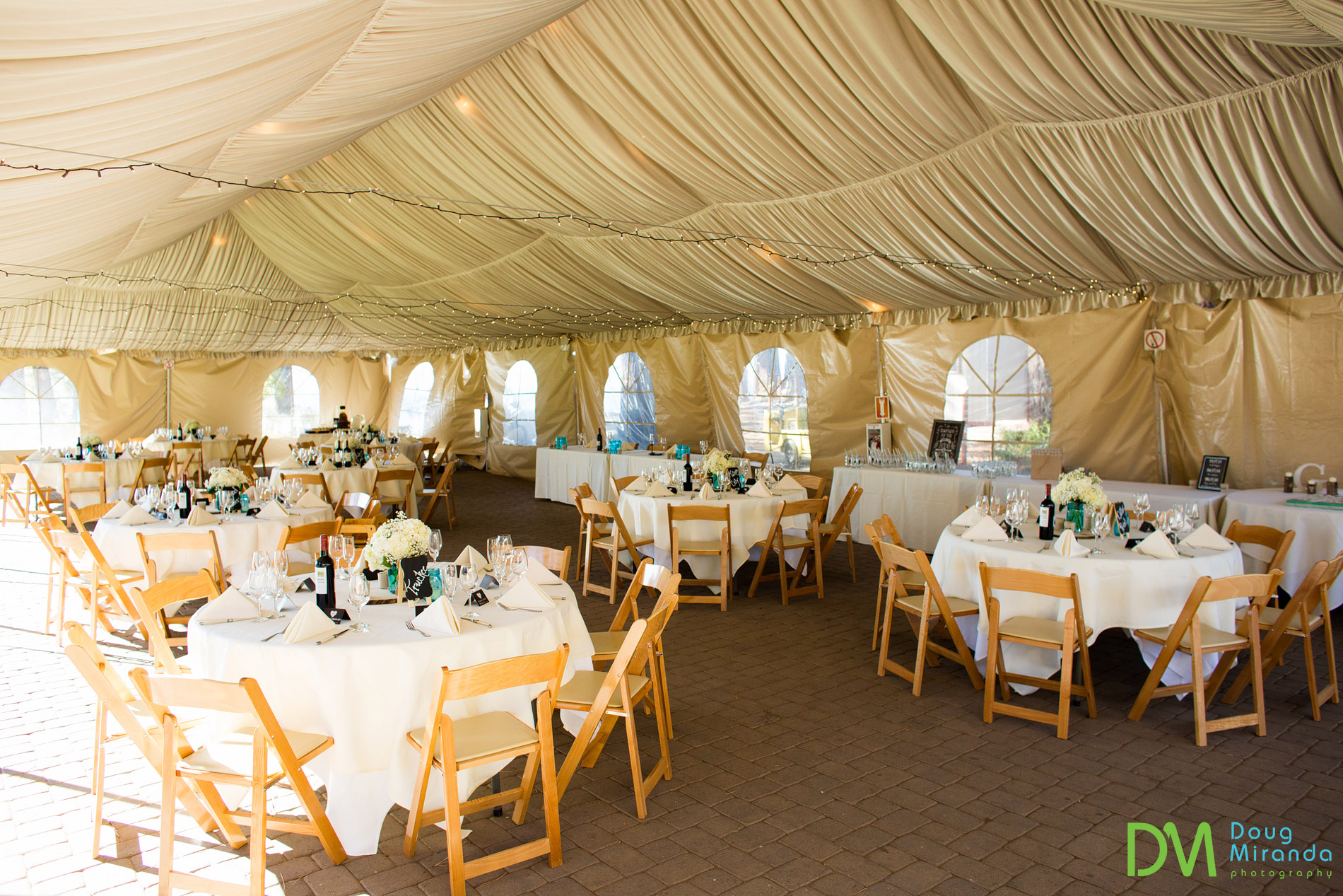 zephyr cove resort wedding reception tent