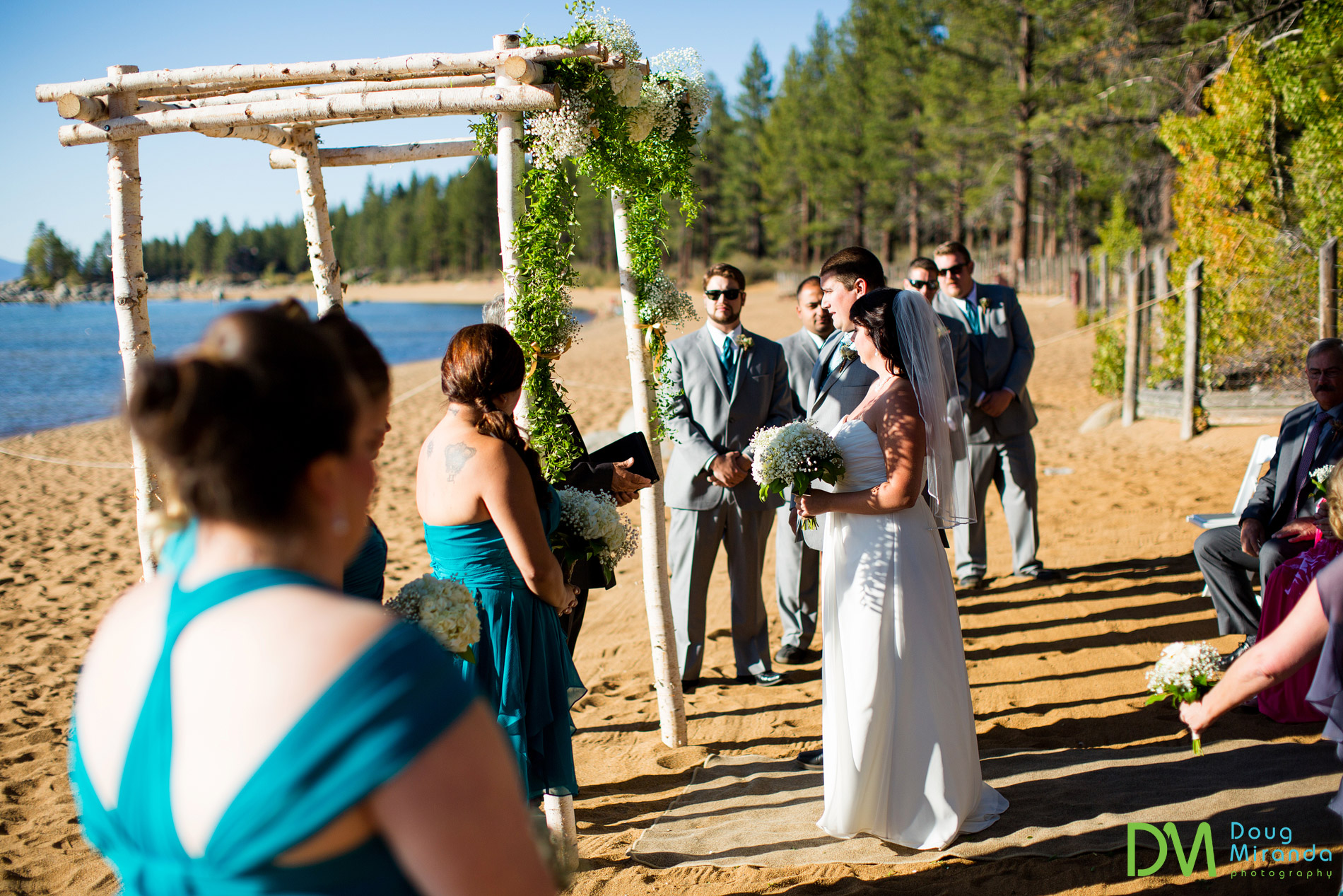 zephyr cove beach weddings