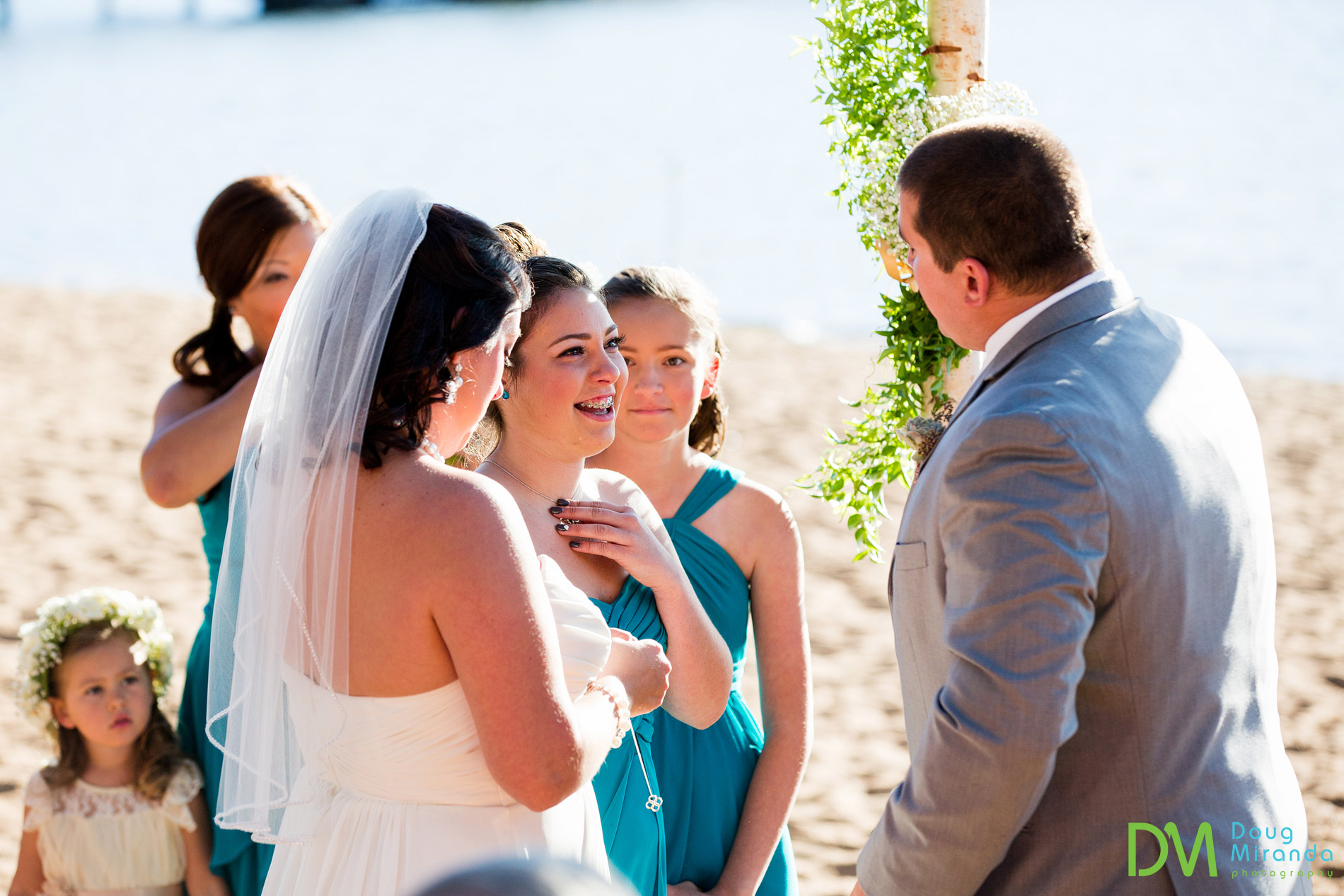 zephyr cove resort wedding ceremony