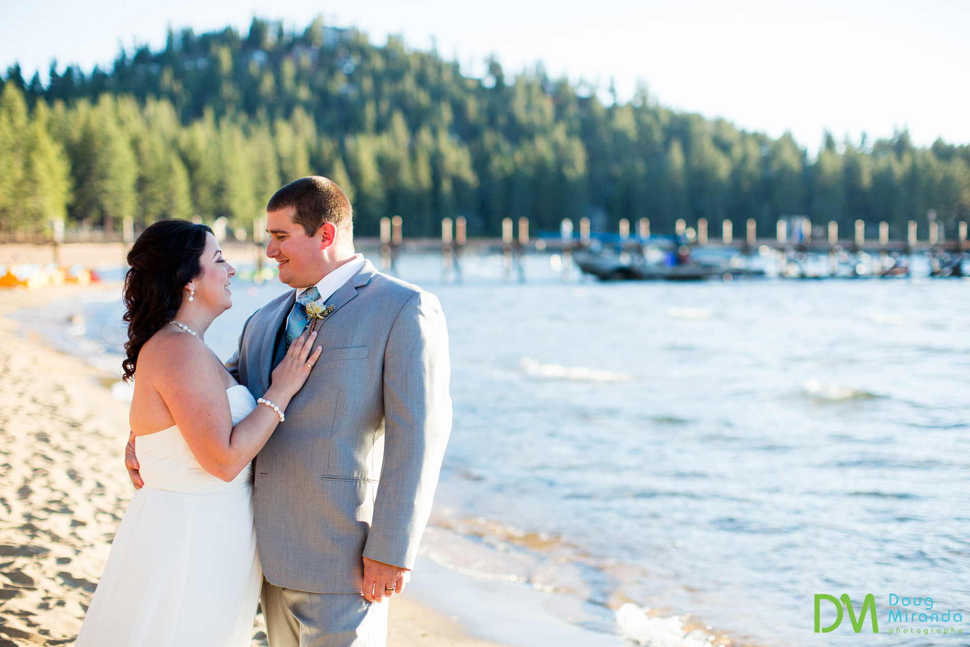 zephyr cove wedding photos lake tahoe