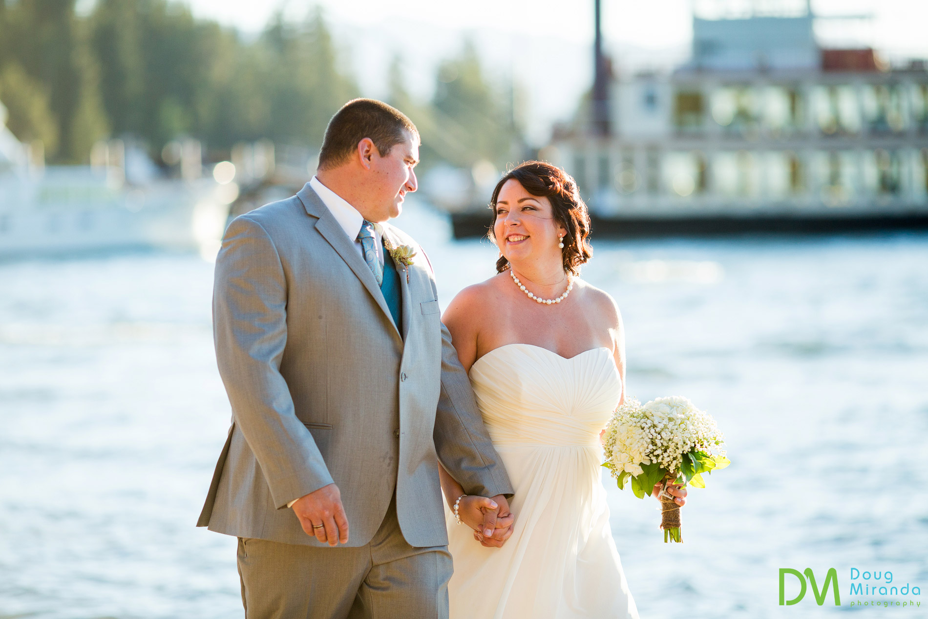 zephyr cove beach wedding